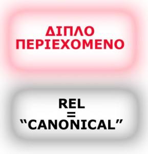 Επαναδημοσίευση ίδιων άρθρων και ο κανόνας rel=»canonical»