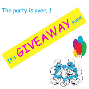 Party giveaway – Στρουμφάκια