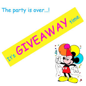 Party giveaway – Mickey mouse